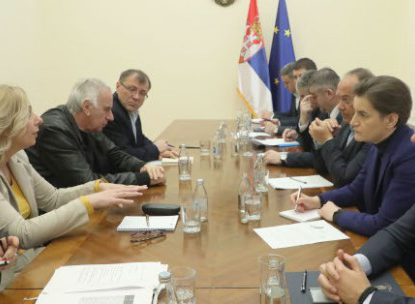 Sastanak prosvete i predsednistva vlade