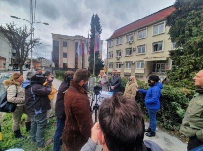 Конференција за штампу Уније СПРС у Крагујевцу