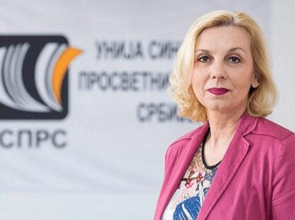 Раднички глас – Председник Уније СПРС Јасна Јанковић