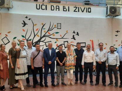 Унија синдиката просветних радника Србије у посети Новом Пазару и Тутину